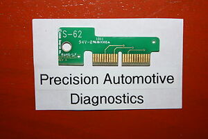S 62 Personality Key For Snap on Scan Tool Mt2500 Mtg2500 Modis Solus Pro Verus