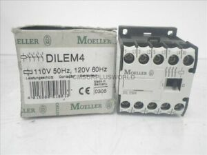 Dilem4 Klockner Moeller Contactor 110v 50hz 120v 60hz new In Box