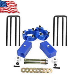 Blue 3 Front 2 Rear Leveling Lift Kit For 2005 2016 Toyota Tacoma