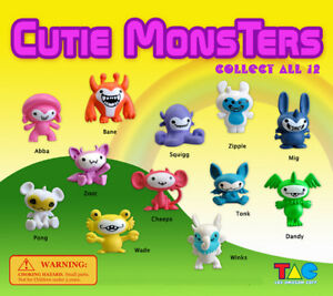 250 Pcs Vending Machine 0 50 0 75 Capsule Toys Cutie Monsters
