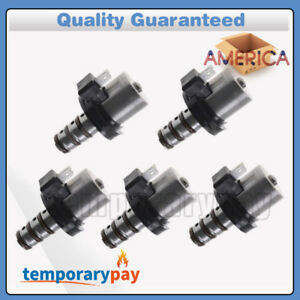 Us Stock Oem 5x Transmission Shift Solenoid Kit For Ford F4a41 F4a42 F4a51 V4a51