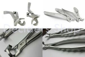 Crown Remover Set Dental Extraction Forceps Molar Series