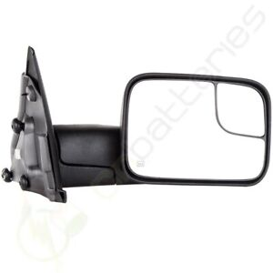Right Side Power Heated Tow Mirror For 2002 2008 Dodge Ram 1500 03 09 2500 3500