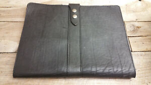 Professional Leather Business Portfolio Folder Interview Hand Made I 300