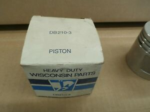 Wisconsin Motors Piston Pn Db210 3 New Old Stock