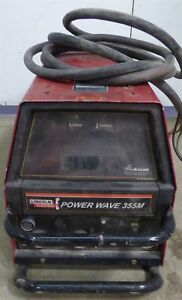 2008 Lincoln Powerwave 355m Mig Tig Stick Multi Process Welder