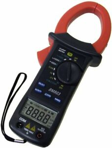 Sinometer Bm803 Auto Manual Range Ac dc Current 1000a Clamp Meter With 3 3 4 And