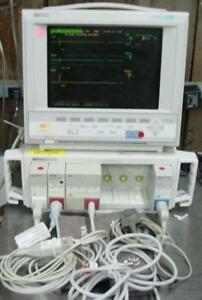 Hp Agilent Phillips Viridia V24c Color Patient Monitor