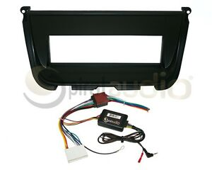 Radio Stereo Mounting Installation Dash Kit Combo Single Din Swc Harness J11