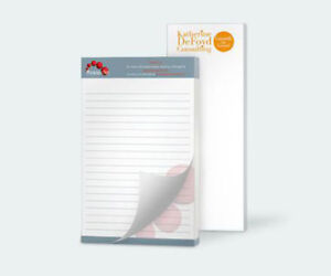Business Sign Custom Print Retail Services Note Pads Various Size Options
