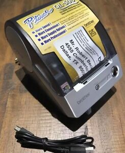 Brother P touch Ql 500 Thermal Label Printer Very Nice Condition