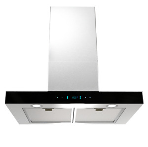 30 Wall Mount Kitchen Stove Range Hood Cooking Oil Air Ventilation Exhaust