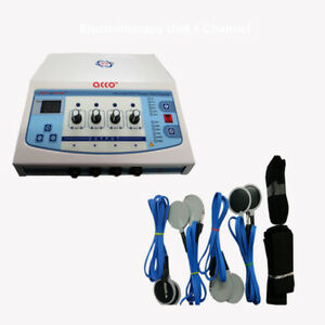 Electrotherapy Physiotherapy 4 Channel Machine Pain Relief Machine 2266