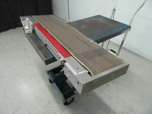 Conveyor 10 25 X 46 5 No Motor used And Tested