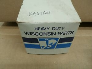 Wisconsin continental Oil Pump Body Ka64as1 New Old Stock