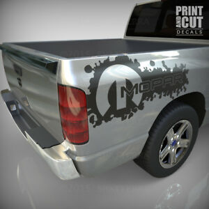 Dodge Ram 1500 2500 3500 Vinyl Decal Racing Sticker Stripe Hemi Mopar 5 7l Ds046