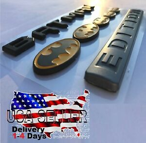 Batman Family Edition Car Truck C S Diesel Decal Logo Sign Fits All Vehicles