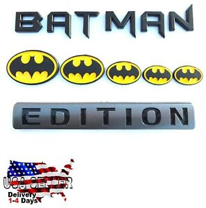 Batman Family Edition Car Truck Willys Hummer Logo Studebaker Decal Suv Sign