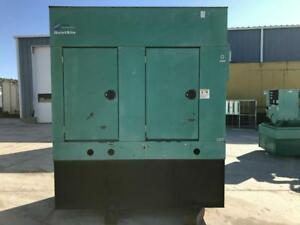 __60 Kw Cummins Onan Generator Base Fuel Tank Sound Attenuated 1 Phase