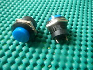 Pack190 Blue Momentary Push button On Off Switch New 507b Nr