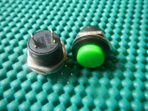 Pack200 Green Momentary Push button On Off Switch New 507g Nr