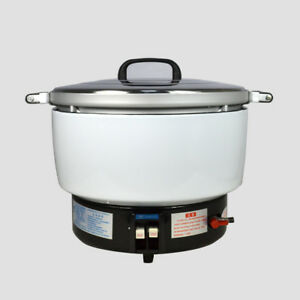 New Natural Gas Commercial Rice Cooker 50 Cups 10l Capacity 2 8kpa Us Stock