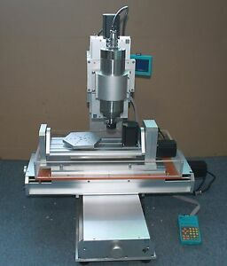 220v 2 2kw Cnc 3040 5 Axis Table Column Type Engraving Machine Router A B Axis