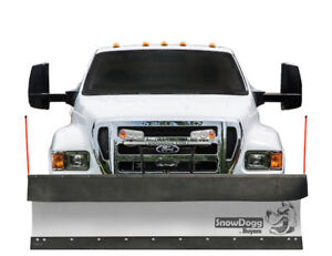 Snowdogg Cm100 10 Stainless Steel Snow Plow Complete Package