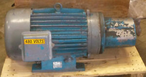 1 Used Ajax Tefc Electric Motor 30hp 3ph 1750 Rpm make Offer