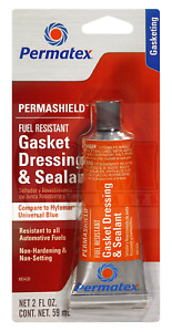 Permatex 85420 Fuel Resistant Gasket Dressing Flange Sealant 2 Oz Tube
