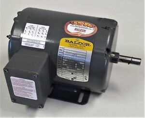 Baldor 3 4 Hp 3ph Inverter Duty Rated Motor 35a026r529 Tenv 56 Frame 3450 Rpm