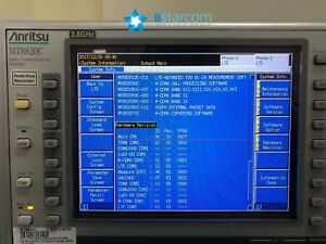 Anritsu Mt8820c Radio Communication Analyzer lte 3 8ghz 2channel