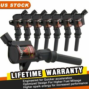 8 Ignition Coils Packs For Ford F150 Crown Victoria Dg508 Fd503 4 6 5 4l 2001 Us