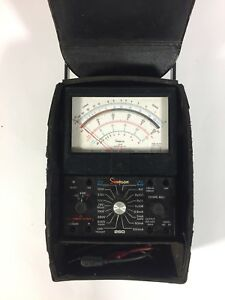 Simpson 260 Series 6xlpm Volt Ohm Multimeter Overload Protection Voltmeter