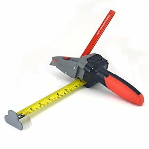 All In One Hand Tool Measuring Tape Utility Knife Drywall Mark Wood Rip Cuts