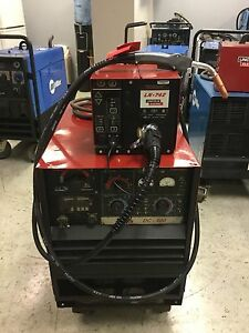 Lincoln Idealarc Dc 400 Multi process Mig Welder