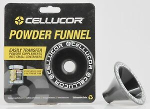 CELLUCOR Powder Funnel EASILY Transfer Powder Supplements Into Small Containers