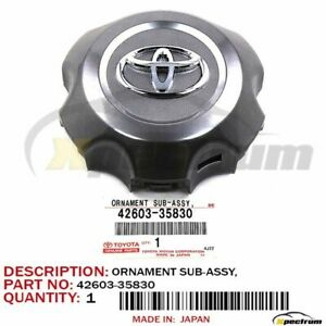 06 09 Toyota 4runner Factory Oem 42603 35830 New Ornament Wheel Hub Center Cap