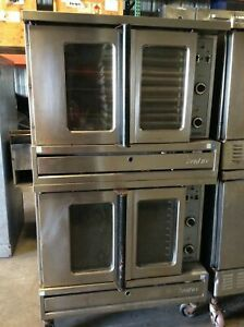 Sunfire Double Deck Gas Convection Oven Sdg 1