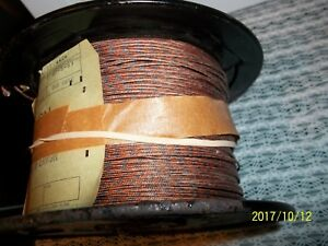 Thermo Couple Wire Gg 24t Approx 800ft F Type Tt glass Braid Insulation l