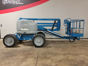 2004 Genie Z45 25 500lb Pneumatic Boom Lift Dual Fuel Articulating Man Lift 4x4