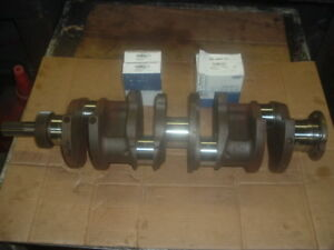 Ford Tractor Crankshaft 4 Cyl 134 172 Gas D1nl Casting Number