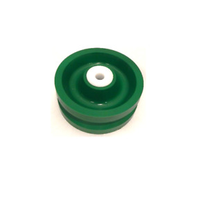Solid Polyurethane V groove Wheel 5 X 2 With 1 2 Id Wet Environment Bearing