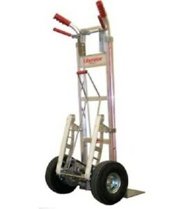 Liberator Disc Brake Hand Truck 600 Cap With Stair Climber 600 Cap