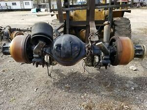 Eaton Rs402 Axle Differential 4 11 Ratio Hub Pilot Air Suspension 0418142 rear