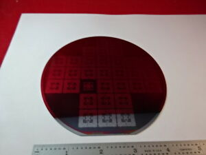 Collectable Semiconductor Wafer Silicon With Components Nice As Is 83 a 24