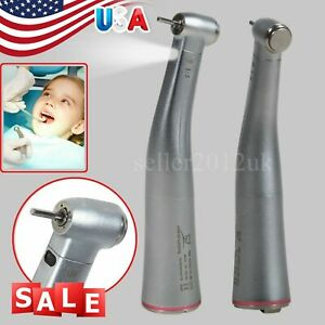 Dental 1 5 Electric Fiber Optic Contra Angle Increasing Handpiece Red Ring F nsk