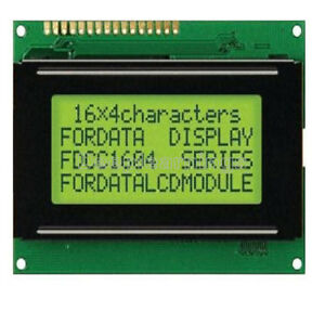 5v Lcd 16x4 1604 Character Lcd Display Module Lcm Yellow Blacklight Arduino