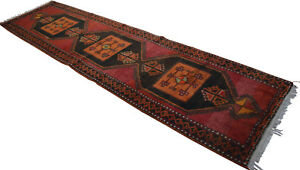 47 X 181 Inches Kurdish Kilim Rug Hand Woven Large Runner Long And Wide Runner