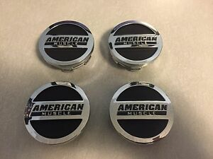 American Muscle Center Caps Set Of 4 Ford Mustang Gt V6 Cobra Rousch 1994 2018